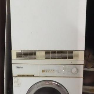Miele 温水洗濯機 乾燥機 単層200V
