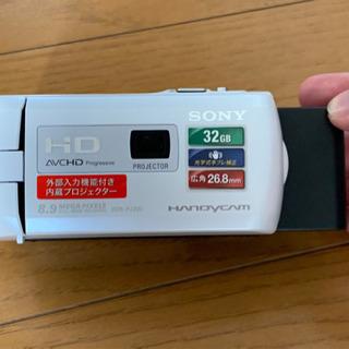 【充電器損失】ソニー ビデオカメラ Handycam