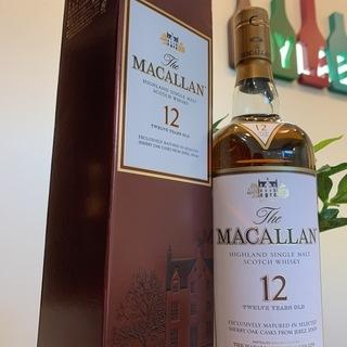 【ウイスキー】マッカラン 12年・18年 各種買い取ります!