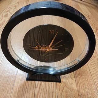 和風 丸型 置時計