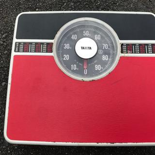 昔の体重計