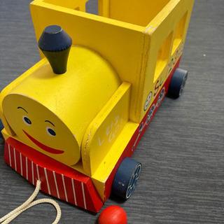 木製 機関車