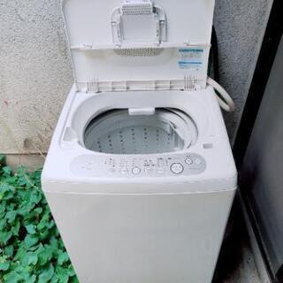 【お譲り先決定】洗濯機 TOSHIBA