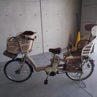 ブリヂストン 電動アシスト自転車 2人子乗せ