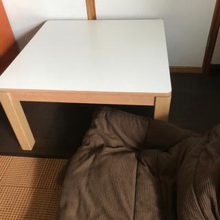 リバーシブルテーブル、コタツ