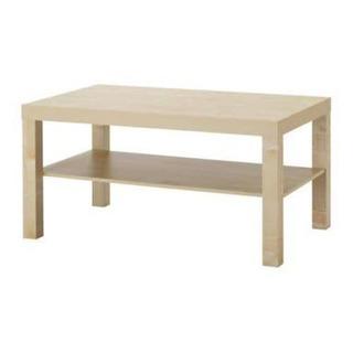 【美品】IKEA ローテーブル LACK ※組み立て済
