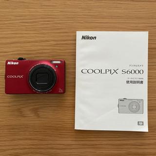 デジタルカメラ NIKON クールピクスS6000
