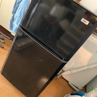 ハイアール冷蔵庫 ブラックの画像