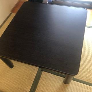 ニトリ テーブル コタツの画像