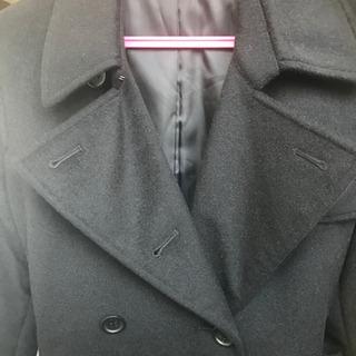 【綺麗なお品】黒ウール コート
