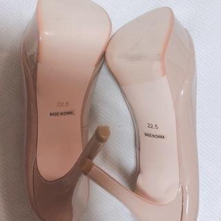 超美品おしゃれパンプス22.5cmヒール約12cm脚長効果抜群 - 靴/バッグ