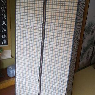 【カバーのみ新品】衣裳ケース、ハンガーラック、洋服収納