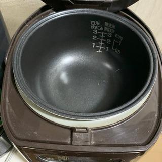 【無料】炊飯器 無料でお譲りします