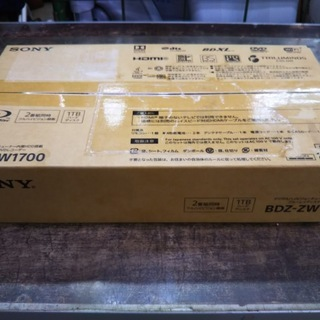 SONY ブルーレイディスクレコーダー BDZ-ZW1700 2...