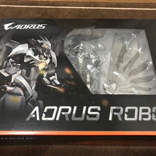 【値下げしました】AORUSのロボットフィギュア(非売品/未開封...