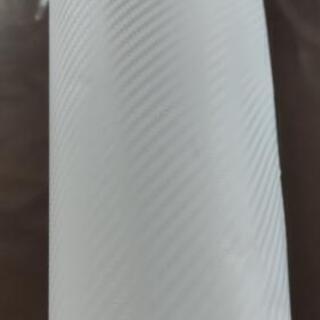 ホワイトカーボン調カッテングステッカー施行セット