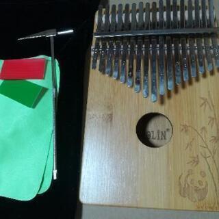 カリンバ 17キー 親指ピアノ パンダ🐼柄 付属品付き 02