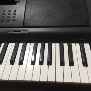 電子ピアノ キーボード CASIO WK-500