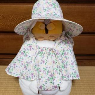 花柄💠園芸用の帽子