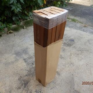 杉角材 チーク塗装済 45×910mm  20本  未使用…