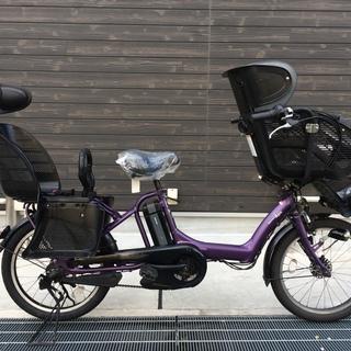 地域限定 ヤマハ キッスミニ 新基準 三人乗り 20インチ 紫 ...