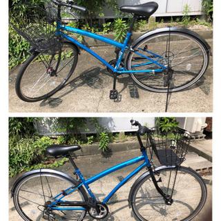 ☆802 シティーサイクル 27インチ ブルーカラー 10000円
