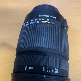 一眼レフ レンズ SIGMA 18-250 Canon用