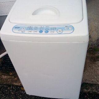TOSHIBA 東芝 全自動洗濯機 4.2kg AW-104(W)