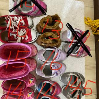 子供靴 サイズアウト 引越しのため 急ぎ