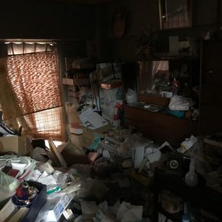 ゴミ屋敷も生前整理、遺品整理もお任せ下さい