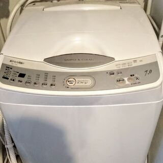 全自動 縦型洗濯機 シャープ ES -T701  送風乾燥運転機...