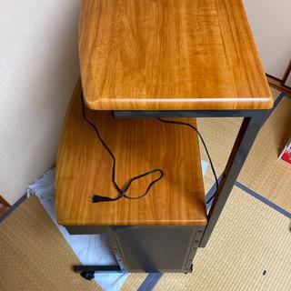 プリンター台付きパソコンデスク