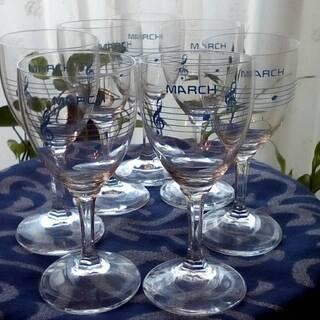 MARCH ワイングラス 7個