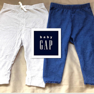 baby gap ベビーギャップ パンツ レギンス2枚