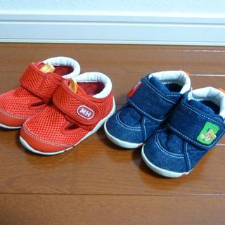 ミキハウス 靴 12cm 12.5cm