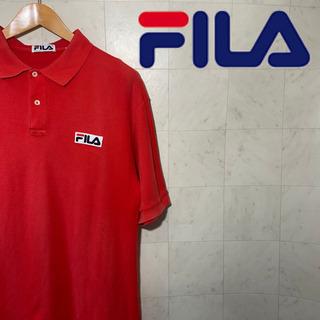 FILA  フィラ ワンポイントロゴ ポロシャツ ビッグサイズ