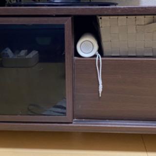 テレビボード ダークブラウン【取りに来てくれる方限定】※値下げ