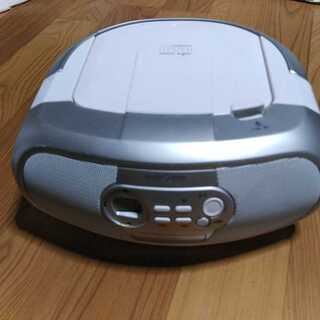 オーム電機 RCR-869Z CD ラジオ ラジカセ コンパクト...