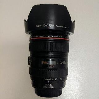 【美品】CANON EF 24-105mm f4(キャノン純正交...