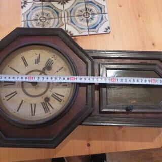昭和レトロ 掛け時計 柱時計