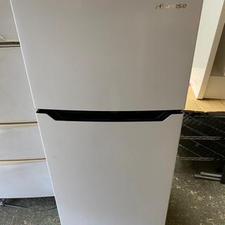 ハイセンス 【右開き】120L 2ドアノンフロン冷蔵庫 エディオ...