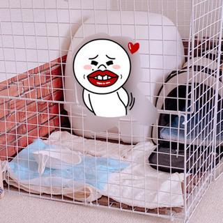 ワイヤーネット 白 猫小屋