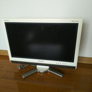 SHARP AQUOS 20インチ TV テレビ
