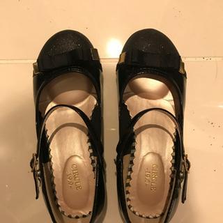 19センチ セレモニー用の靴