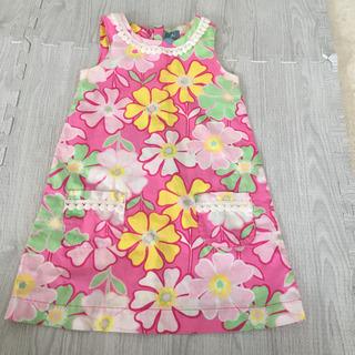 夏にぴったり‼️美品‼️Gap kids♡花柄ワンピース 100㎝