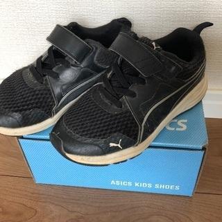 子供靴 サイズ18 男の子 PUMA