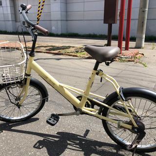 20インチ 自転車 カゴ付き