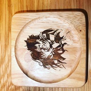鬼滅の刃木製コースター