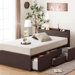 ニトリ シングルベッド フレーム+マットレス