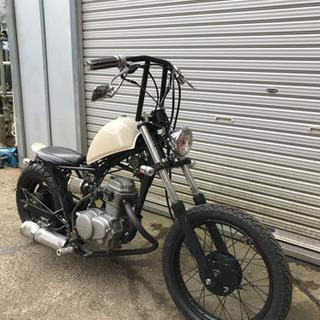 ホンダ エイプ 50cc チョッパー仕様 モリワキマフラー